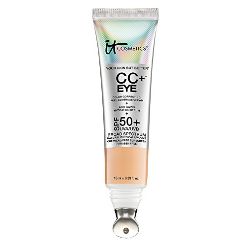 It Cosmetics - It Cosmetics CC+ Eye Color Correcting Full Coverage Cream Concealer Medium