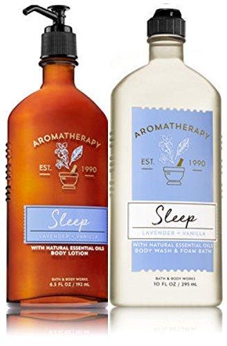 Bath & Body Works - Aromatherapy Sleep - Lavender + Vanilla Body Lotion