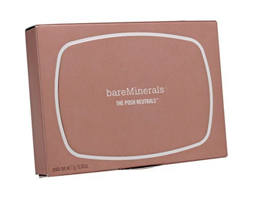 Bare Escentuals - bareMinerals Eyeshadow 8.0, The Posh Neutrals, 0.24 Ounce