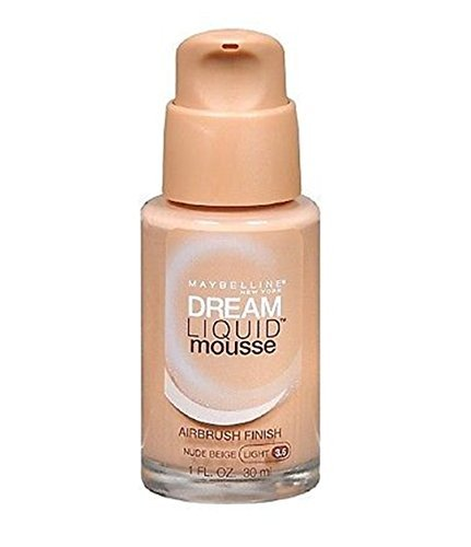 Maybelline - Maybelline Dream Liquid Mousse Foundation– NUDE BEIGE (LIGHT 3.5)