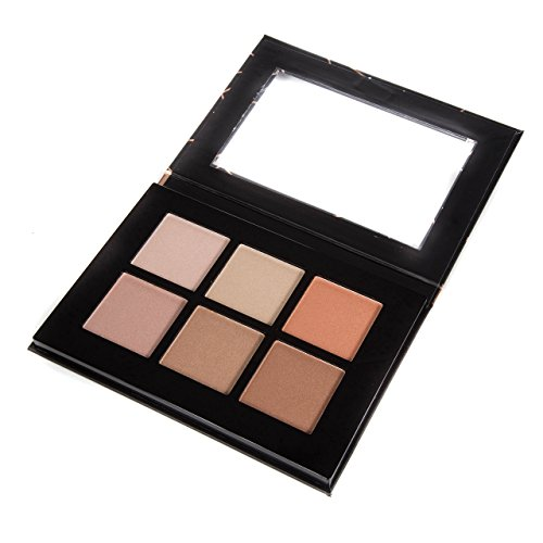 Profusion Cosmetics - Profusion Cosmetic - Studio Highlight Palette - Professional 6 Shimmer Highlight Palette Colors
