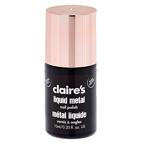 Claire'S - Claire's Girl's Liquid Metal Rose Gold Nail Polish