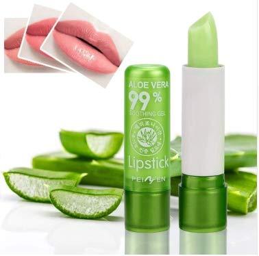 LEKGAVD - Nexxerex.ahop Aloe Vera Lipstick Color Mood Changing Long Lasting Moisturizing Lipstick