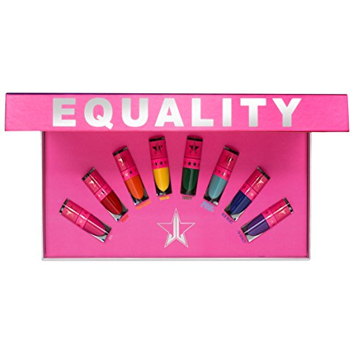 Jeffree Star Cosmetics - Jeffree Star Cosmetics EQUALITY The Mini Rainbow Velour Liquid Lipsticks, 8 Colors