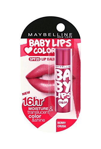 Maybelline - Maybelline Baby Lips Color SPF 16 Lip Balm 4.5g : Berry Crush