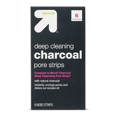 Up&Up - Charcoal Deep Cleansing Pore Strips
