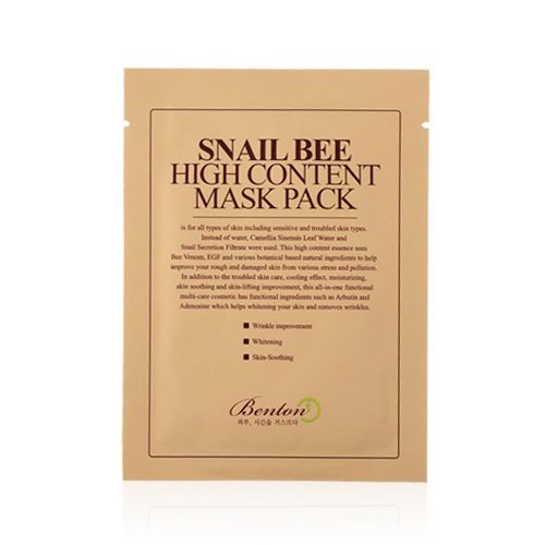 Benton - Snail Bee High Content Mask Pack