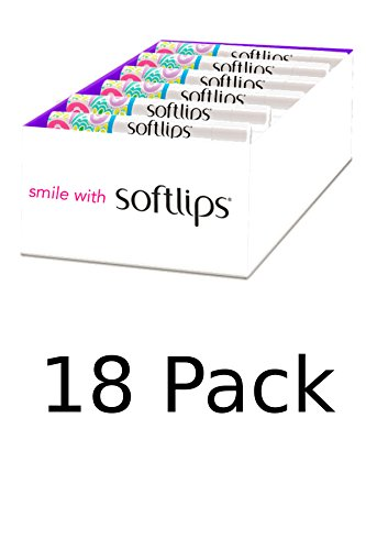 amazon.com - Softlips Vanilla Lip Protectant (18-pk)