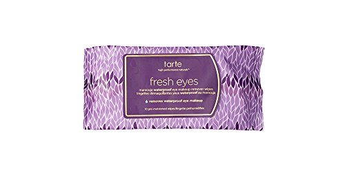 Tarte - Fresh Eyes Maracuja Waterproof Eye Makeup Remover Wipes