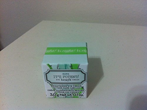 Benefit - New Benefit It's Potent! Eye Cream Travel Size 3g/0.1 Oz. New in Box