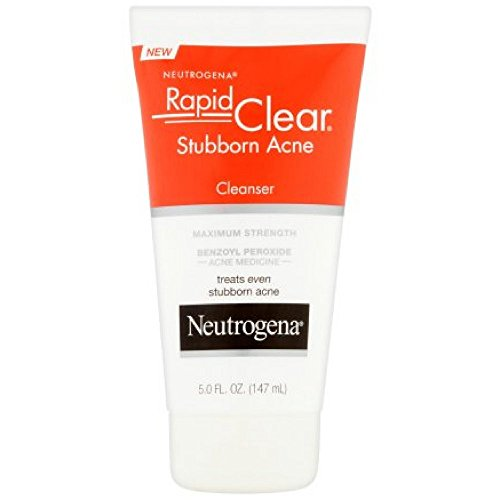 Neutrogena - Neutrogena Rapid Clear Stubborn Acne Cleanser 5 oz (Pack of 3)