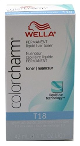 Wella - Wella Color Charm Liquid Toner #T18 Lightest Ash Blonde (41ml) (3 Pack)