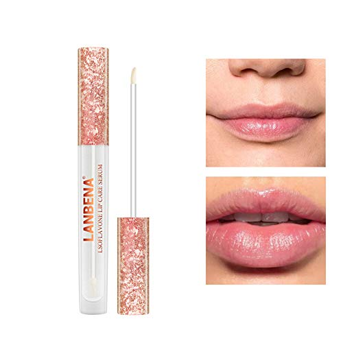 angel3292 angel3292 Moisturizing Plump Lip Care Lipstick Essence Serum Gloss Women Beauty Cosmetics