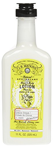 J.R. Watkins - J. R. Watkins Natural Hand & Body Lotion - Lemon Cream - 11 oz
