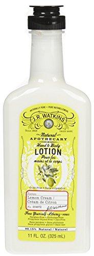 J.R. Watkins - J. R. Watkins Natural Hand & Body Lotion - Lemon Cream - 11 oz