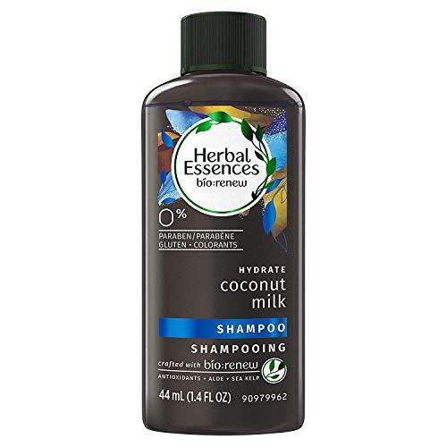 Herbal Essences - Herbal Essences Biorenew Coconut Milk Hydrate Shampoo 1.4 Fl Oz / 44 mL, Travel Sized Bottle (Pack of 6)