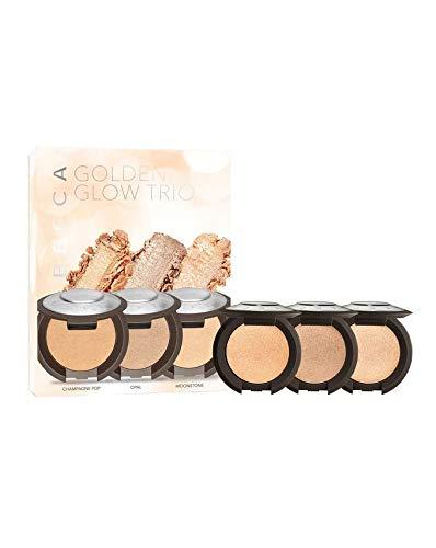 Becca Cosmetics - Golden Glow Trio, Opal, Moonstone, Champagn Pop