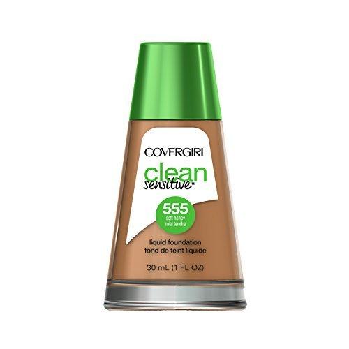 Covergirl - Clean Sensitive Skin Liquid Foundation, Soft Honey