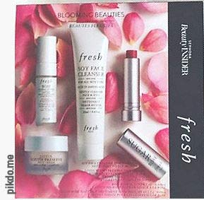 Fresh Sephora Collection - Fresh Blooming Beauties 4 Pieces Skin Care and Lipstick in Deluxe Box, Sephora Beauty Insider Reward 500 pts