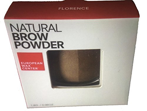European Wax Center - Natural Brow Powder - Florence (0.06 oz / 1.8 g)