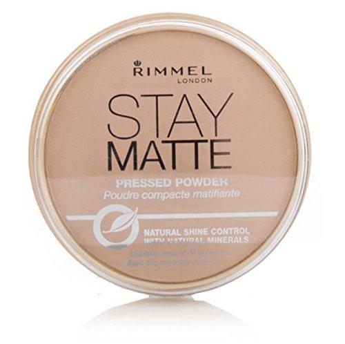 Rimmel - Rimmel Stay Matte Long Lasting Pressed Powder - Creamy Beige 018