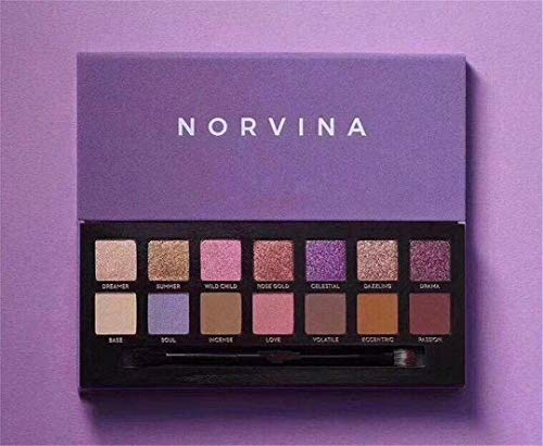 Rercicies - Good Sale Soft Glam Modern Subculture Prism 14 Colors Makeup Eye Shadow Palette Have 4Styles norvina
