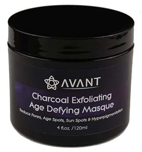 Avant - Charcoal Face Mask, Pore Minimizing Mask, Clay Face Mask, Detox Mask. Healing Clay, Botanical Oils and Activated Charcoal good for Exfoliating and Hydrating | USA Organic and Natural | Avant