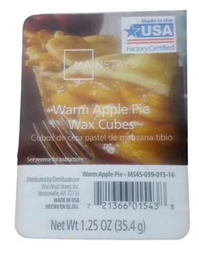 Mainstays - MAINSTAYS Warm Apple Pie Wax Cubes 1.25 OZ