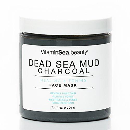 Vitaminsea.Beauty - VitaminSEA.Beauty Dead Sea Mud Charcoal Healing and Toning Face Mask