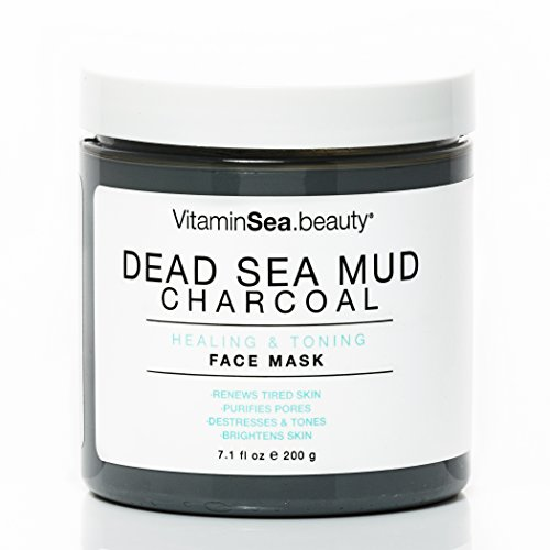 Vitaminsea.Beauty - VitaminSEA.Beauty Dead Sea Mud Charcoal Healing and Toning Face Mask