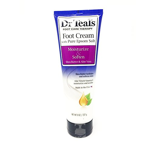 Dr Teal'S - Dr Teal's Shea Enriched Foot Cream, 8 Oz. (Pack of 2)