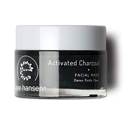 Eve Hansen - Eve Hansen Activated Charcoal Bentonite Clay Face Mask | Detoxifying Charcoal Mask with Dead Sea Mud | Kaolin Clay Blackhead Remover Mask, Acne Scar Treatment and Pore Minimizer Facial Mask | 1.7 oz
