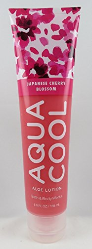 Bath & Body Works - Aqua Cool Aloe Gel Lotion, Japanese Cherry Blossom