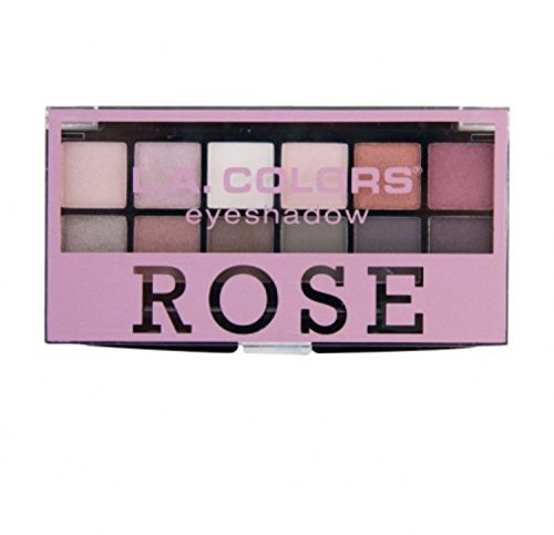 L. A. Colors - LA Colors 12 Eyeshadow Palette ROSE