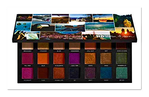 UDCosmetics - Born To Run Eyeshadow Palette Authentic