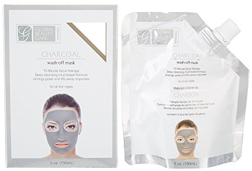 Global beauty care premium - Global Beauty Care Premium Charcoal Wash Off Mask One Size Grey