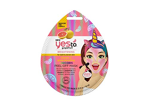 Yes To - Vitamin C Glow Boosting Unicorn Peel Off Mask
