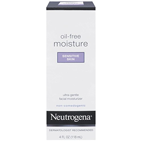 Neutrogena - Neutrogena Oil-Free Moisture Sensitive Skin, 4 Fl Oz (Pack Of 3)