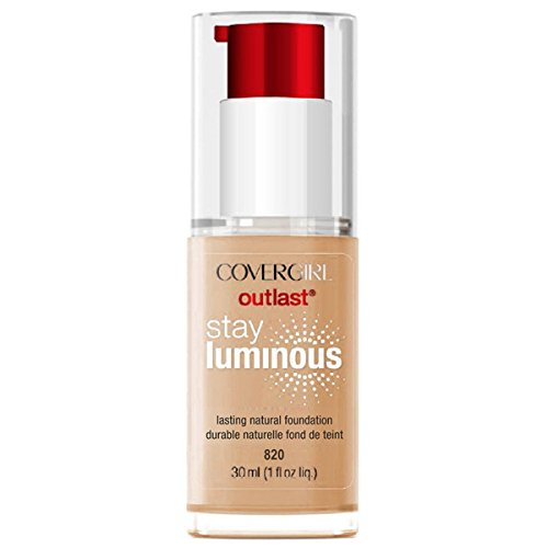 Covergirl - ONLY 1 IN PACK Covergirl Outlast Stay Luminous Foundation, 820 Creamy Natural