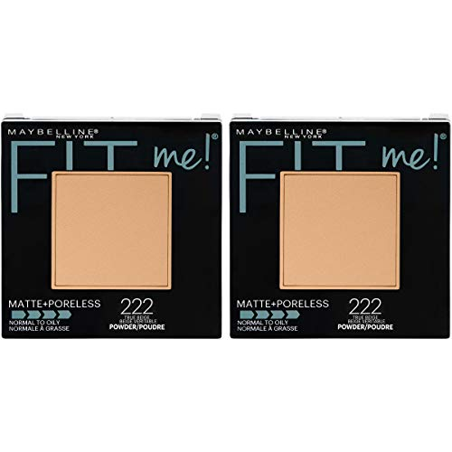Maybelline - Maybelline New York Fit Me Matte + Poreless Pressed Face Powder Makeup, True Beige, 0.6 Ounce