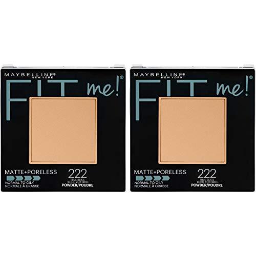 Maybelline - Maybelline New York Fit Me Matte + Poreless Pressed Face Powder Makeup, True Beige, 0.6 Ounce