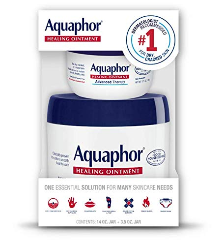 Aquaphor - Aquaphor Advanced Therapy Healing Ointment 14 Ounce + 3.5 Ounce