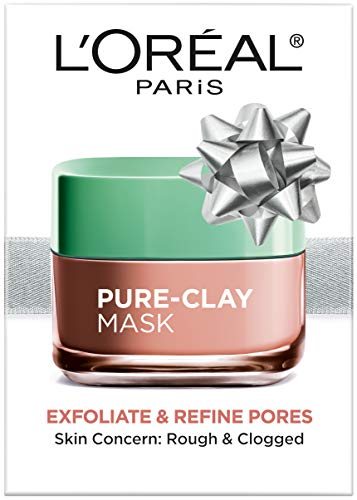 L'Oreal Paris - Skincare Pure-Clay Face Mask with Red Algae for Clogged Pores