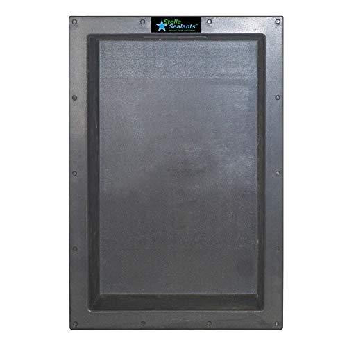Stella Sealants - Shower Niche Single Shelf 25''x17'' - Ready For Tile Waterproof Leak Proof Bathroom Recessed Shelf - Organizer Storage For Shampoo and Toiletry Storage from Stella Sealants