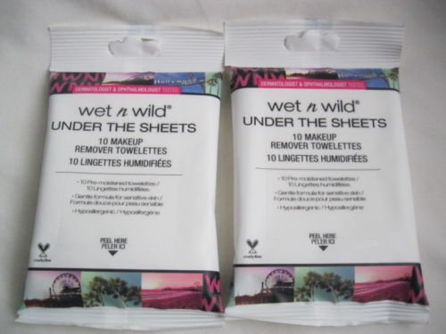 Wet N' Wild - Under the Sheets Makeup Remover Towelettes
