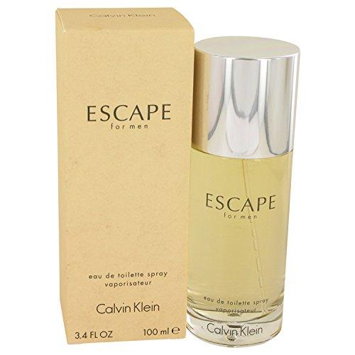 Calvin Klein - Calvïn Klêin Escapé Cologné for Men 3.4 oz Eau de Toilette Spray +Free JC.Vial
