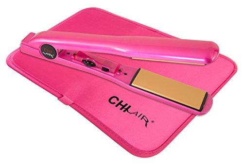 Chi - CHI Air Expert Classic Tourmaline Ceramic Hair Straightening Iron, Pure Pink, 1.5 Inch