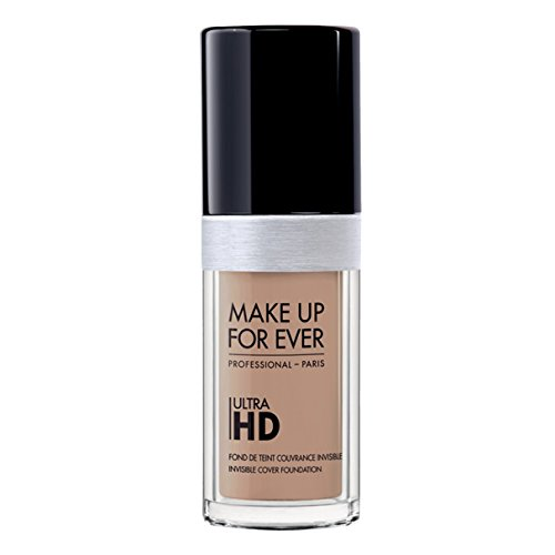 Make Up Forever - Foundation Ultra Hd Fluid Foundation Ultra Hd, 118-Y325 Flesh, Authentic 100% From Paris France (Smooth, Oil Free , Cover Ance Dark Spot , Brightening) 30ml