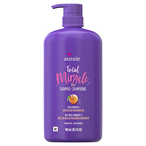 Aussie - Aussie Total Miracle Shampoo, 30.4 Fluid Ounce (Pack of 4)