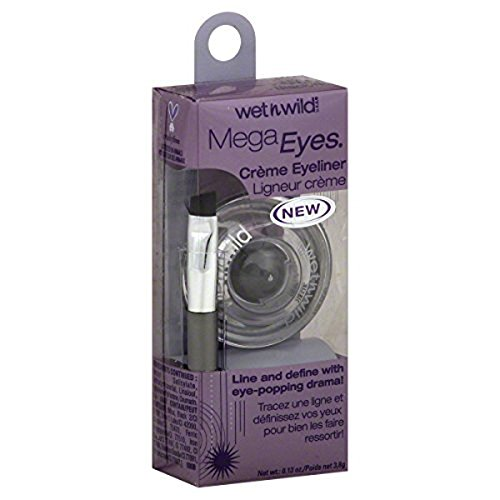 Wet N' Wild - Wet 'n' Wild Mega Eyes Creme Eyeliner, 886 Black